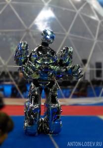 Шоу роботрон IT Forum 2020