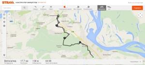 От Кстово до МЕГА на велосипеде