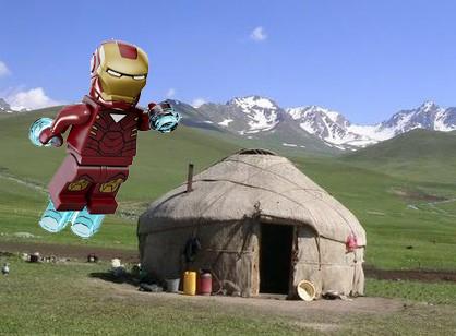 Железный человек обнаружен в Бишкеке