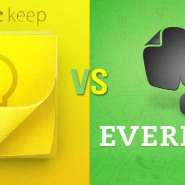 Google keep или Evernote
